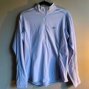 Arc'teryx Women's Quarter-Zip Fleece in Lilac L
